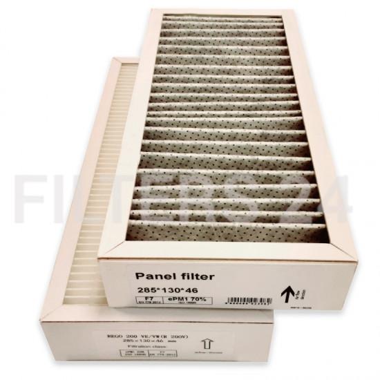 DOMEKT REGO 200 VE/VW (R 200 V) Carbon Filter set