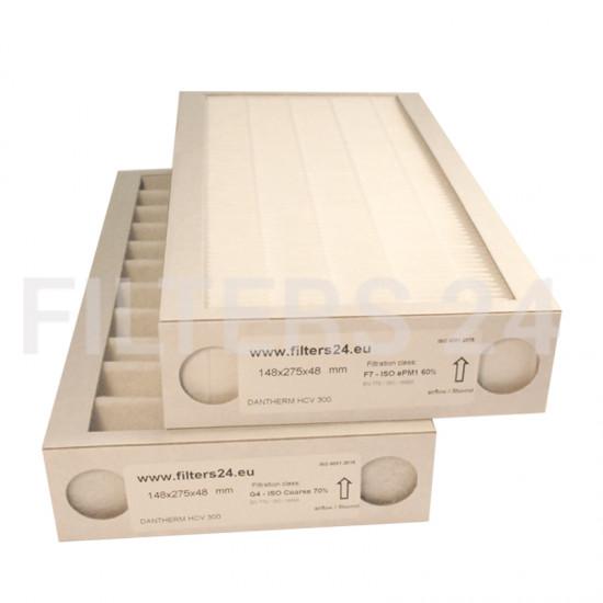 DANTHERM HCV 300 F7+G4 Filterset