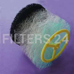 FRESH AIR VALVE FILTER 80-100mm with Carbon